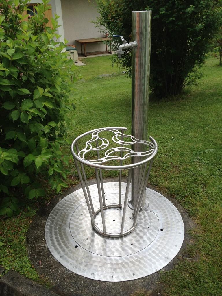 Hausbrunnen aus Edelstahl für Anspruchsvolle!